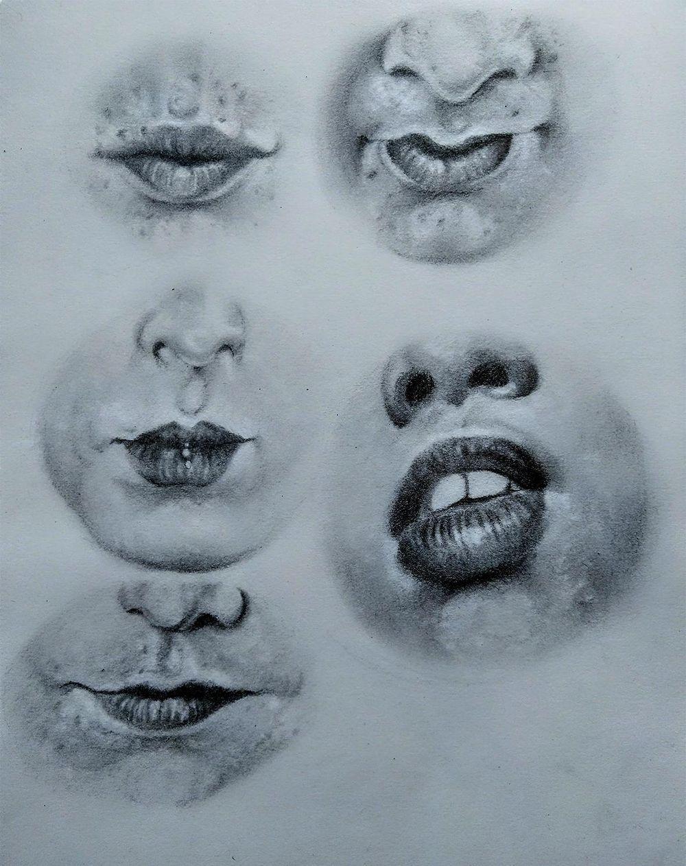 Pencil Portrait - practice - image 6 - student project