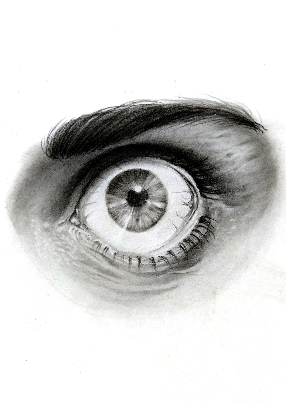 Pencil Portrait - practice - image 4 - student project