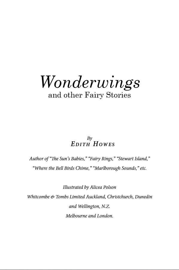 Wonderwings book design - image 1 - student project