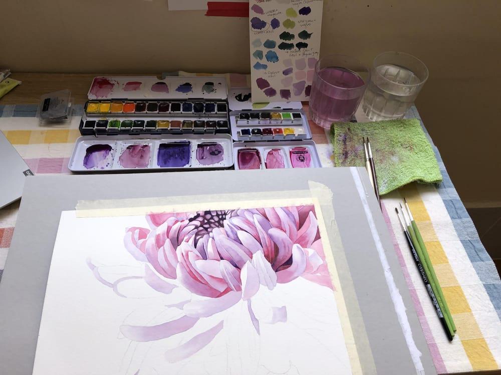 Chrysanthemum - image 3 - student project