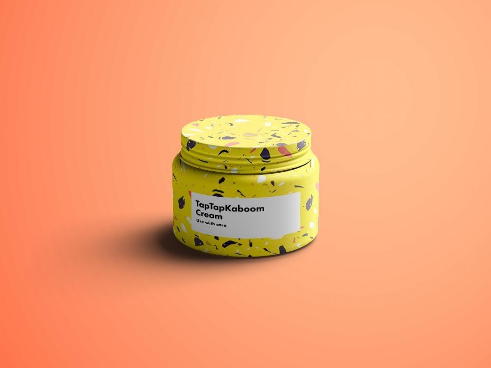 Brighten Your Face Terrazzo Cream - image 3 - student project