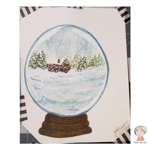 Snow Globe 1 - image 1 - student project