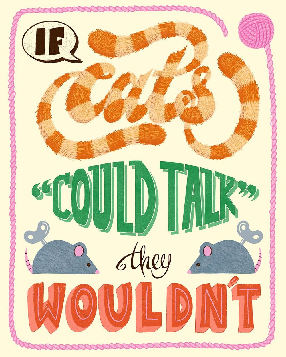 If cats could talk... - image 1 - student project