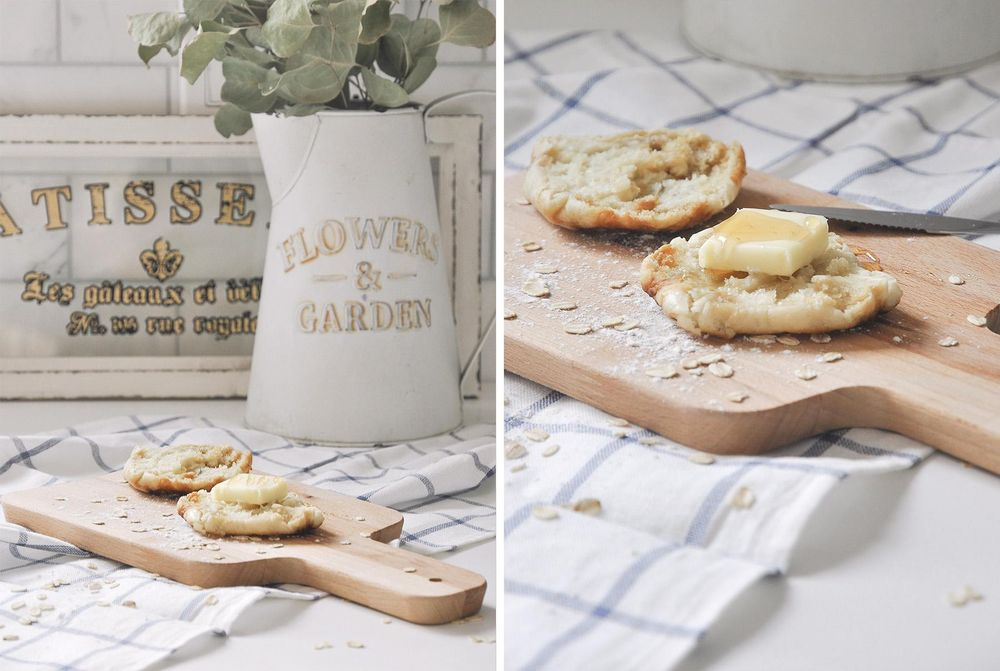Homemade English Muffin Photoshoot - image 1 - student project