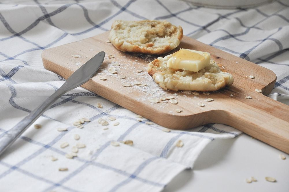 Homemade English Muffin - image 1 - student project