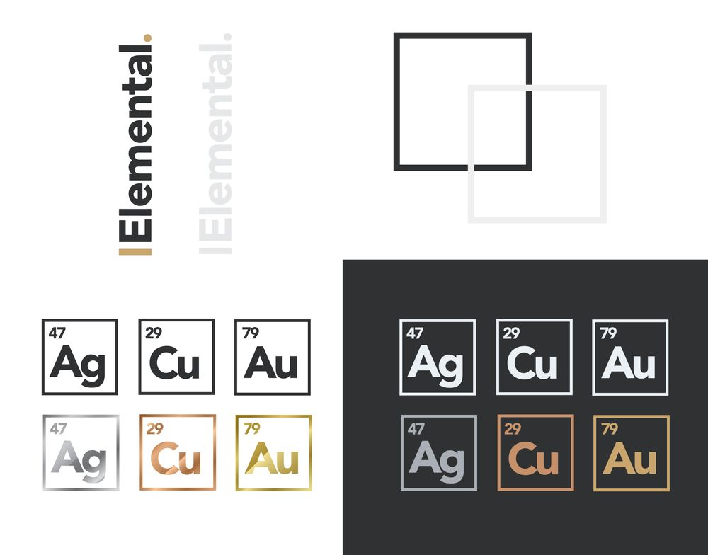 The Elemental Brand - Full Design Process - image 10 - student project
