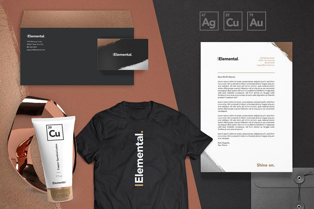 The Elemental Brand - Full Design Process - image 1 - student project