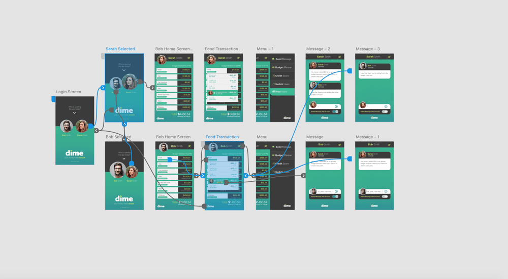 Mobile App Design and Wireframe - image 3 - student project