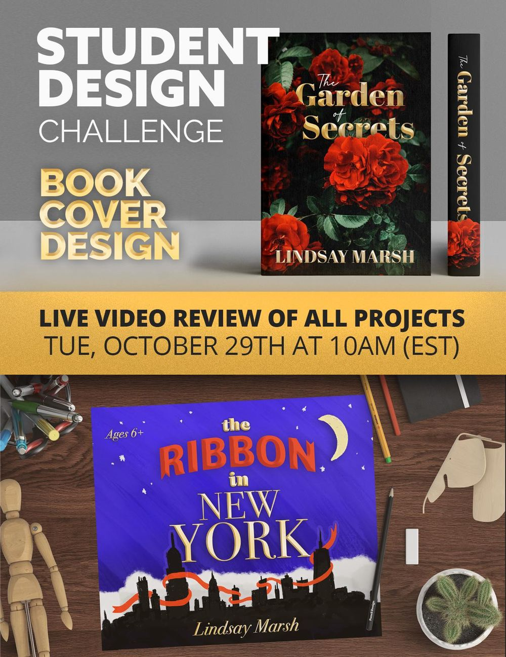 Design A Book Cover Student Design Challenge! - image 1 - student project