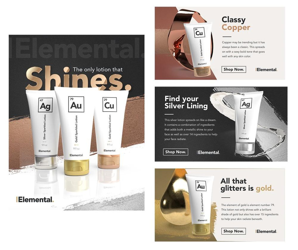 The Elemental Brand - Full Design Process - image 4 - student project