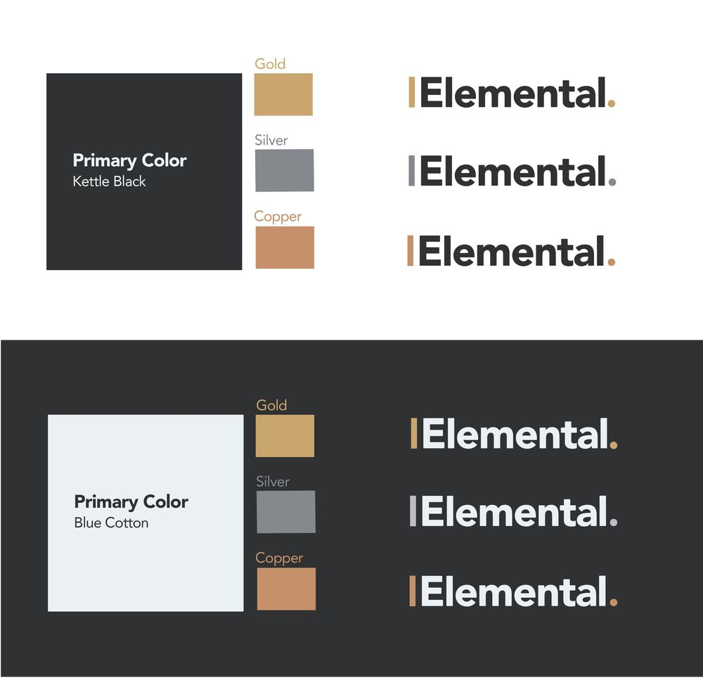 The Elemental Brand - Full Design Process - image 3 - student project