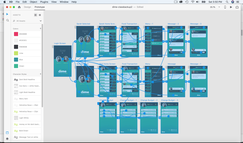 Mobile App Design and Wireframe - image 4 - student project