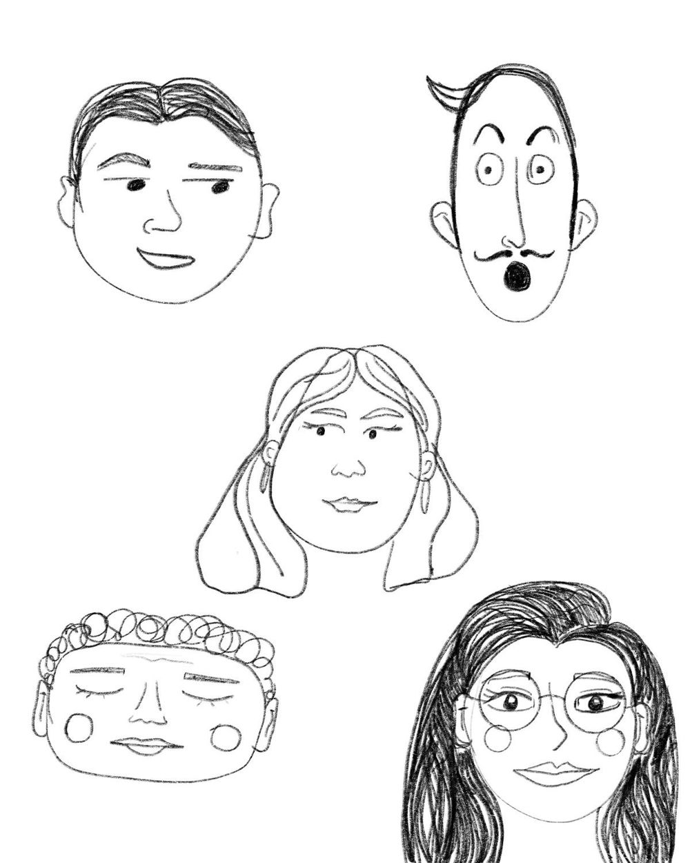 Digital Portrait for Fun with Faces - image 4 - student project