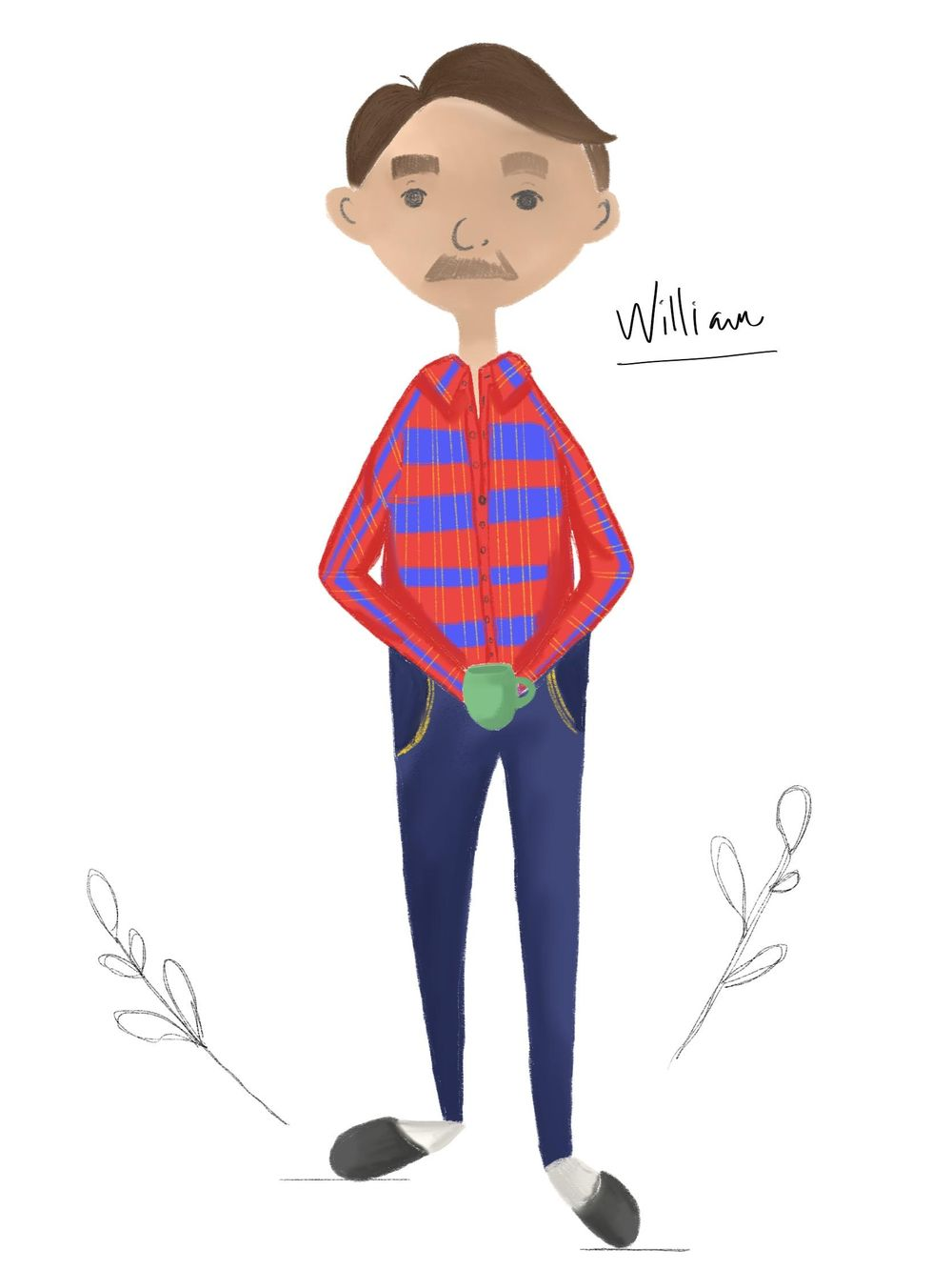 William: Little Forest Stories Character - image 1 - student project