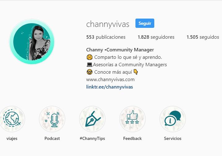 Channy Vivas. Bio y perfil optimizados :) - image 1 - student project