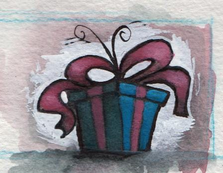 Watercolor Holiday Characters - image 3 - student project