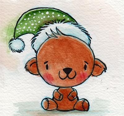 Watercolor Holiday Characters - image 5 - student project
