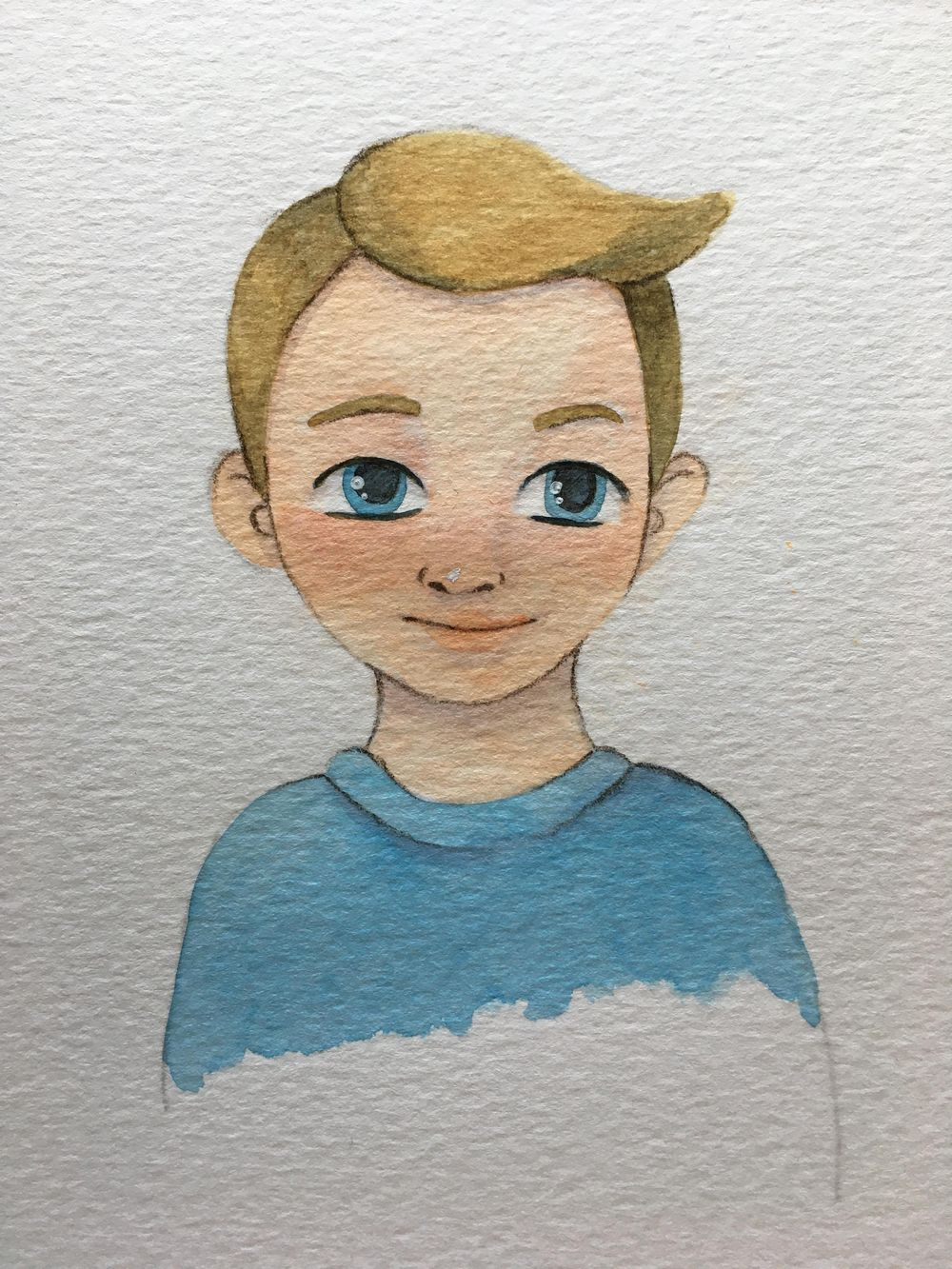 Watercolor Avatar - image 1 - student project
