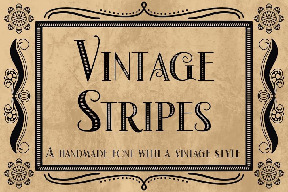 Vintage Stripes - image 1 - student project