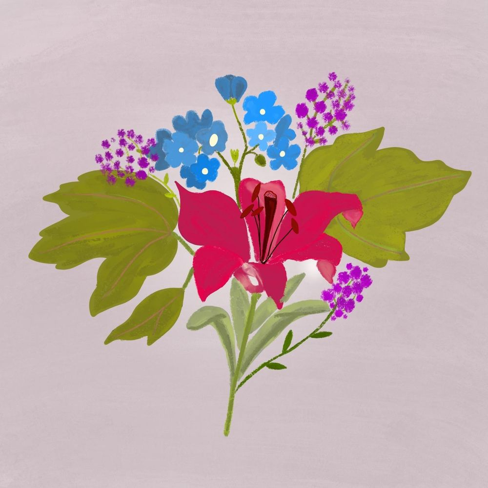 My first florals (ever) - image 2 - student project