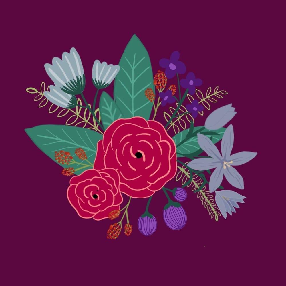 floral arrangement - image 1 - student project