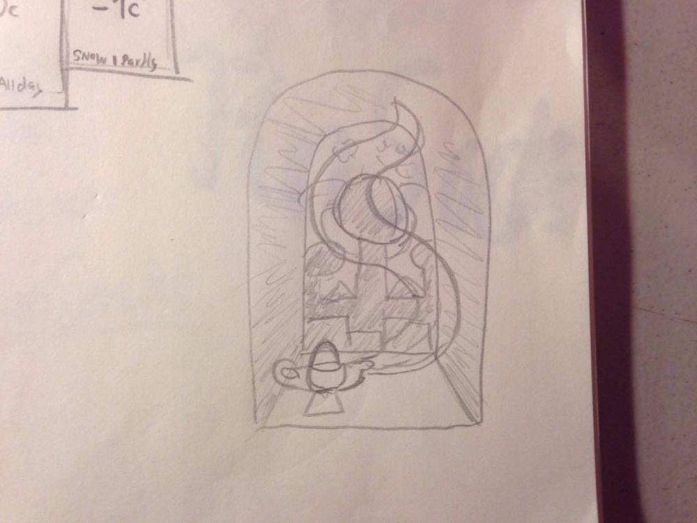 Aladdin - image 1 - student project
