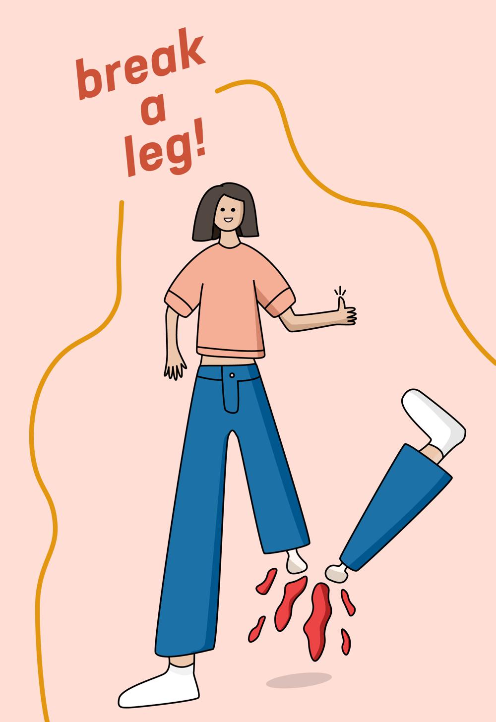 Break a leg! - image 1 - student project