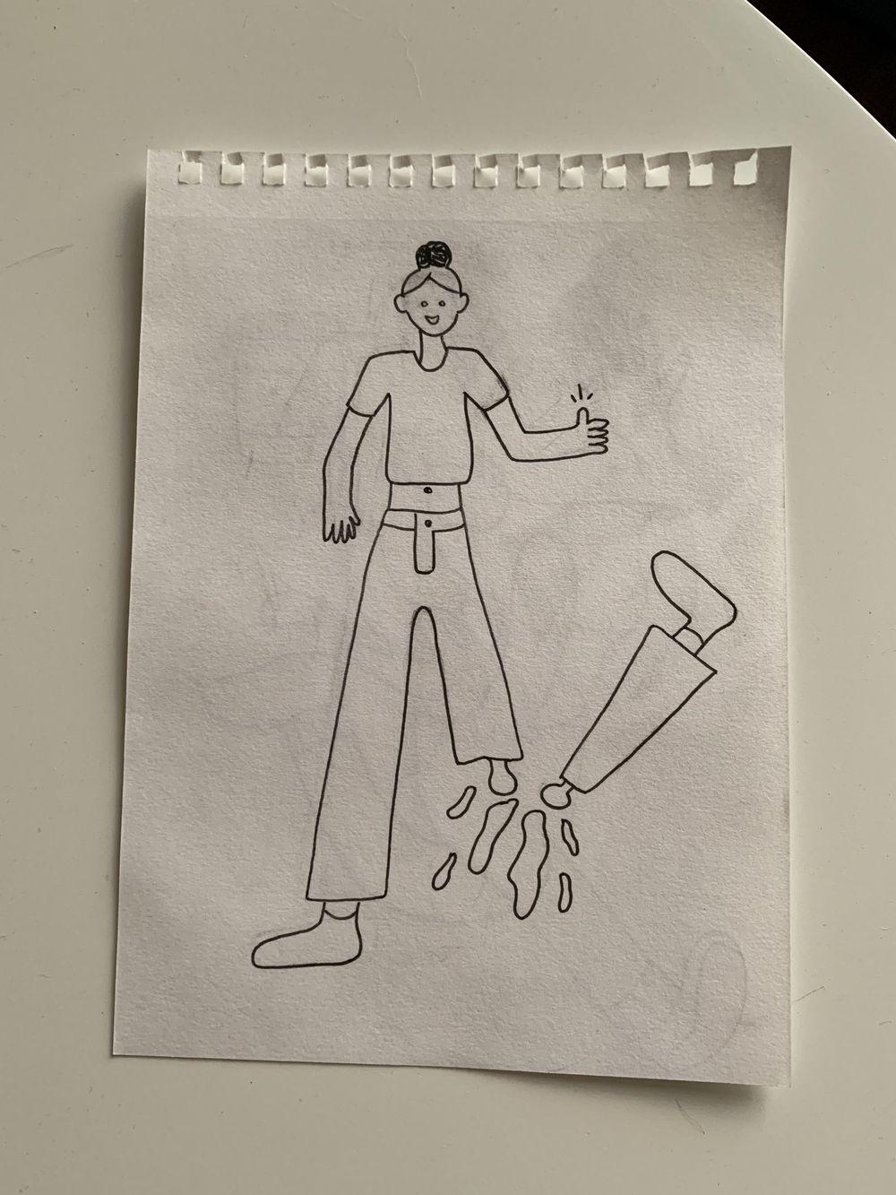 Break a leg! - image 2 - student project