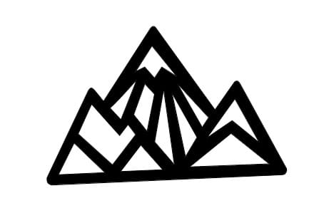 Mountain necklace design - image 3 - student project