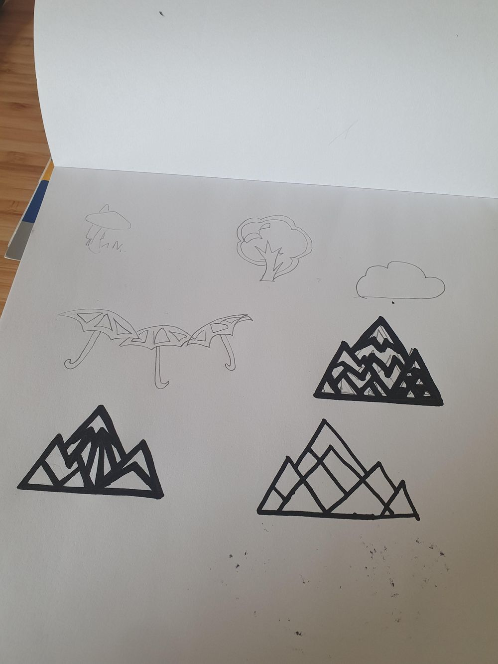 Mountain necklace design - image 1 - student project