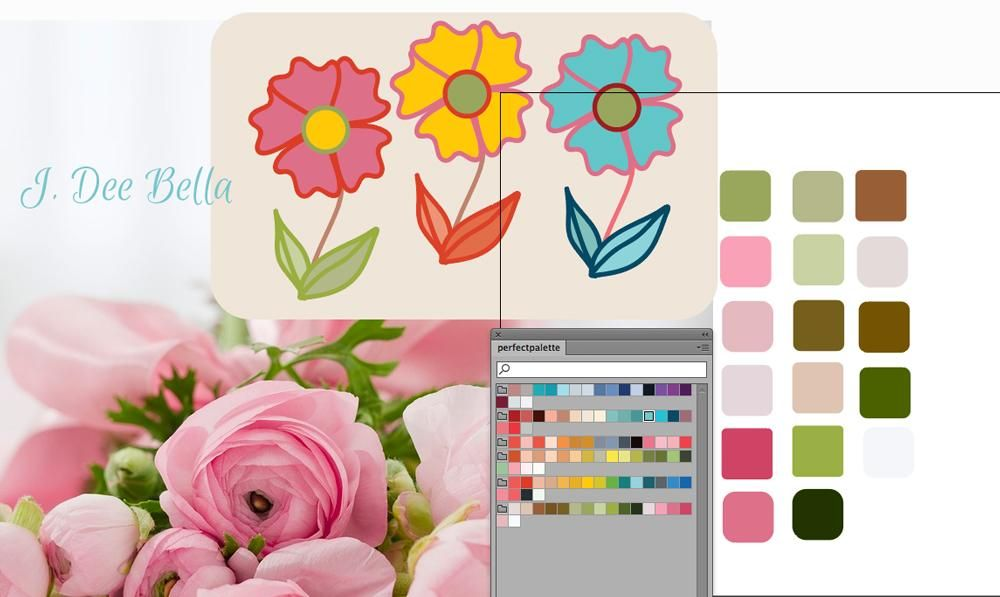 Mastering color palette - image 1 - student project