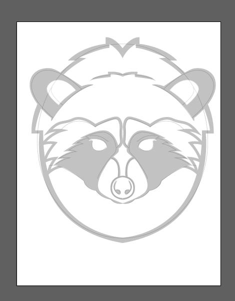 Raccoon Logo - image 3 - student project