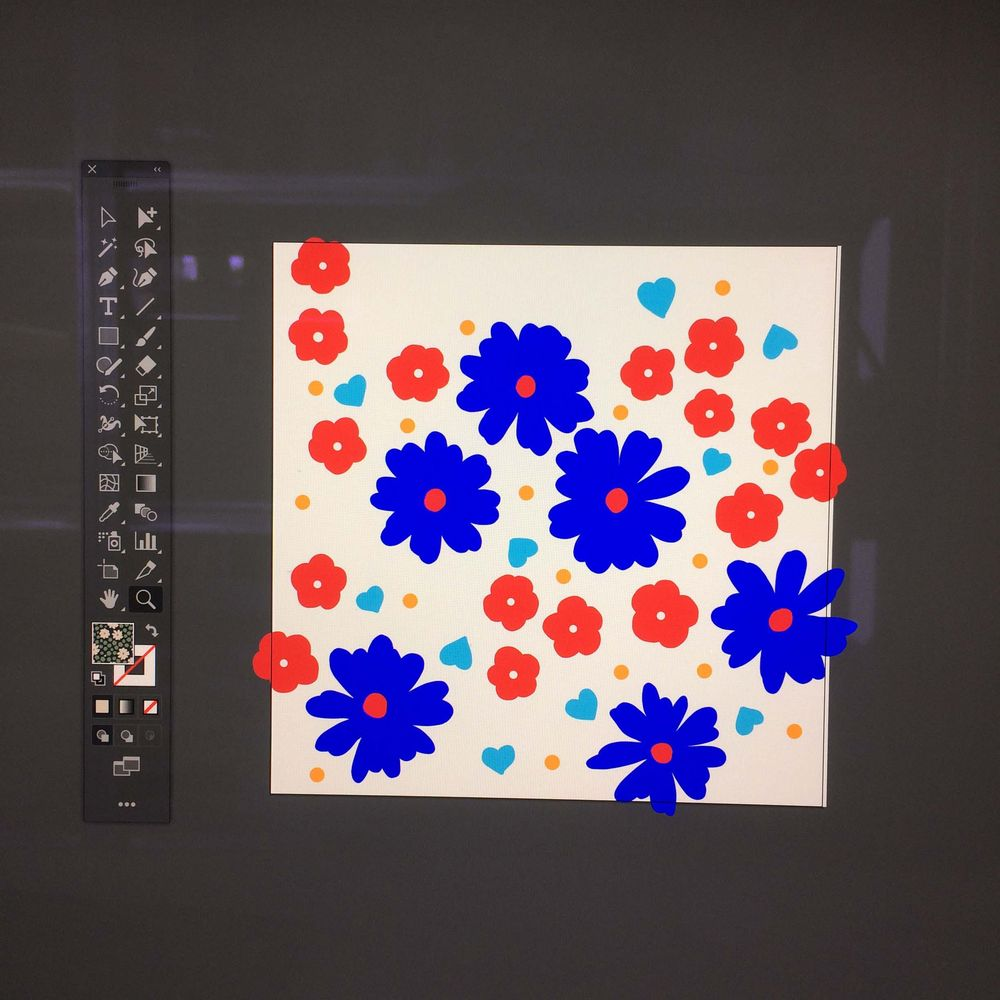 Pattern Design: From Sketch to Repeat Pattern - image 3 - student project