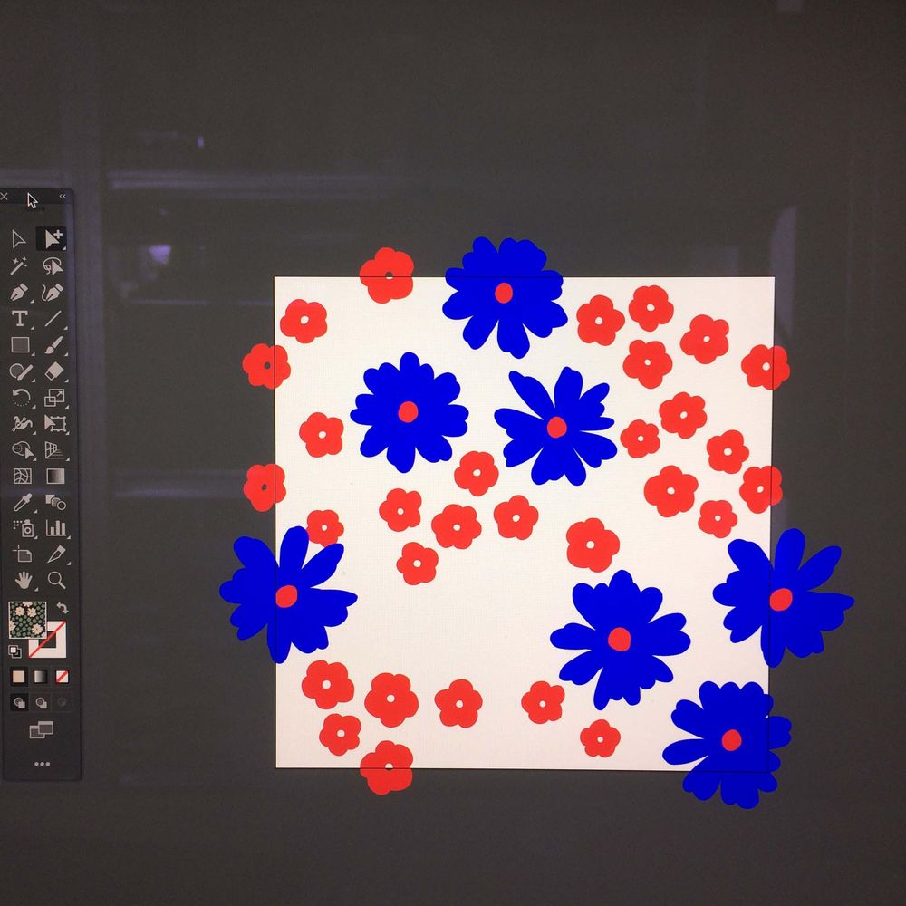 Pattern Design: From Sketch to Repeat Pattern - image 4 - student project