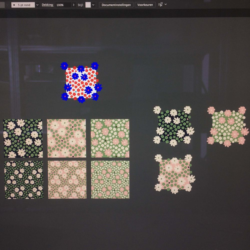 Pattern Design: From Sketch to Repeat Pattern - image 6 - student project