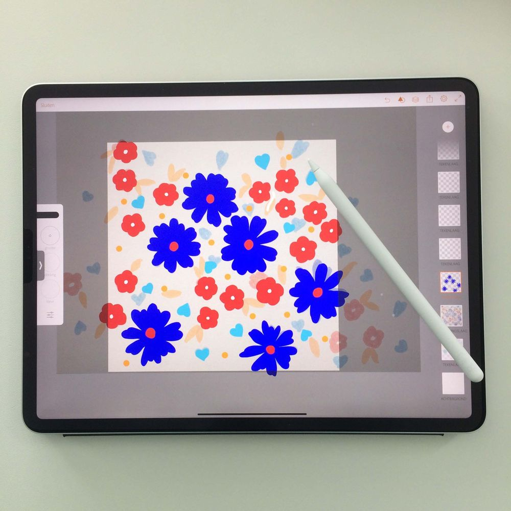 Pattern Design: From Sketch to Repeat Pattern - image 2 - student project