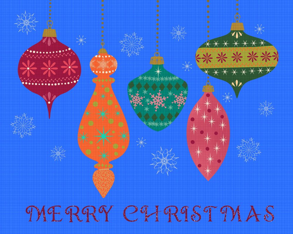 Christmas Ornaments and textures - image 3 - student project