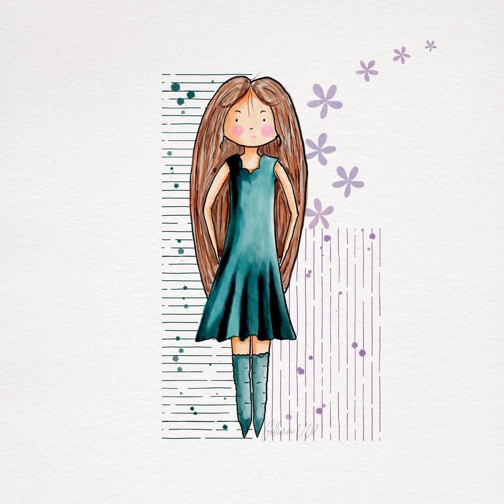 Sweet Stylised girls - image 4 - student project