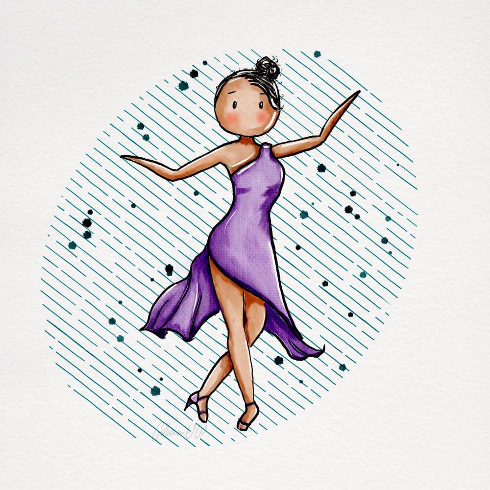 Sweet Stylised girls - image 3 - student project
