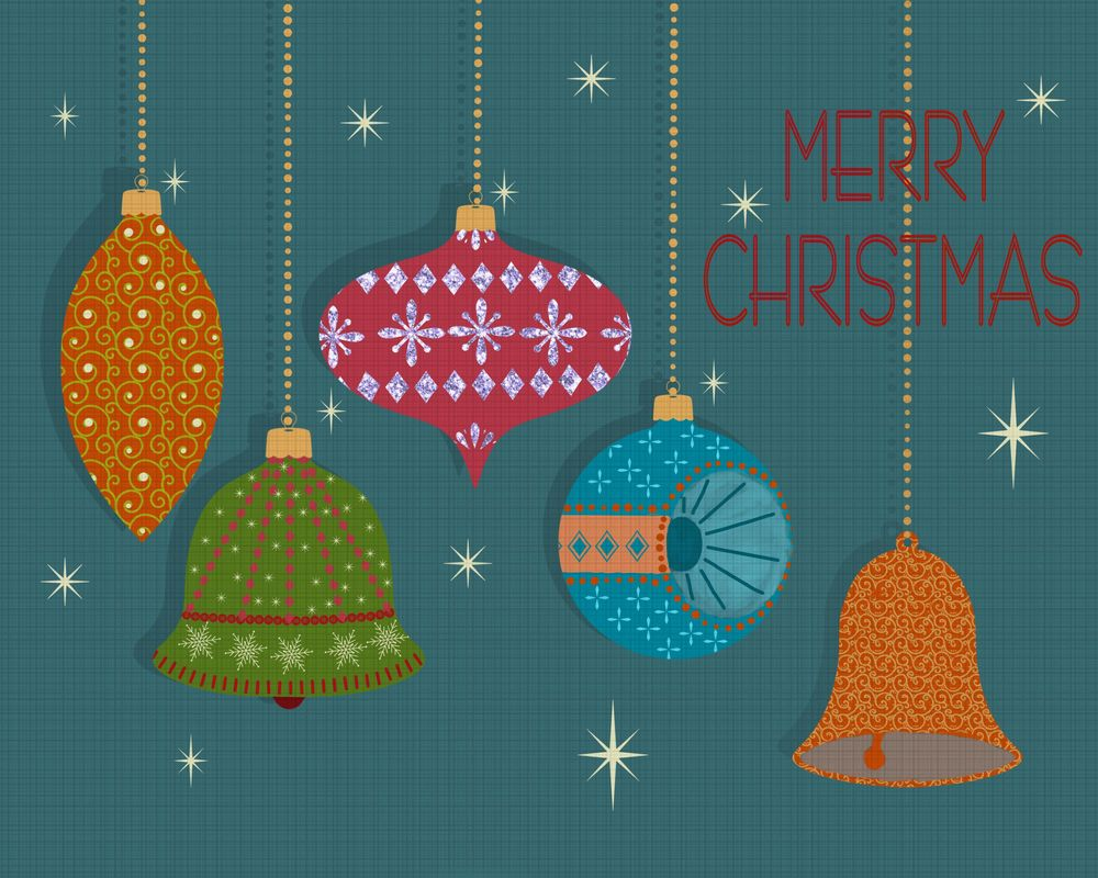 Christmas Ornaments and textures - image 1 - student project