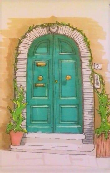 door number 6 - image 1 - student project