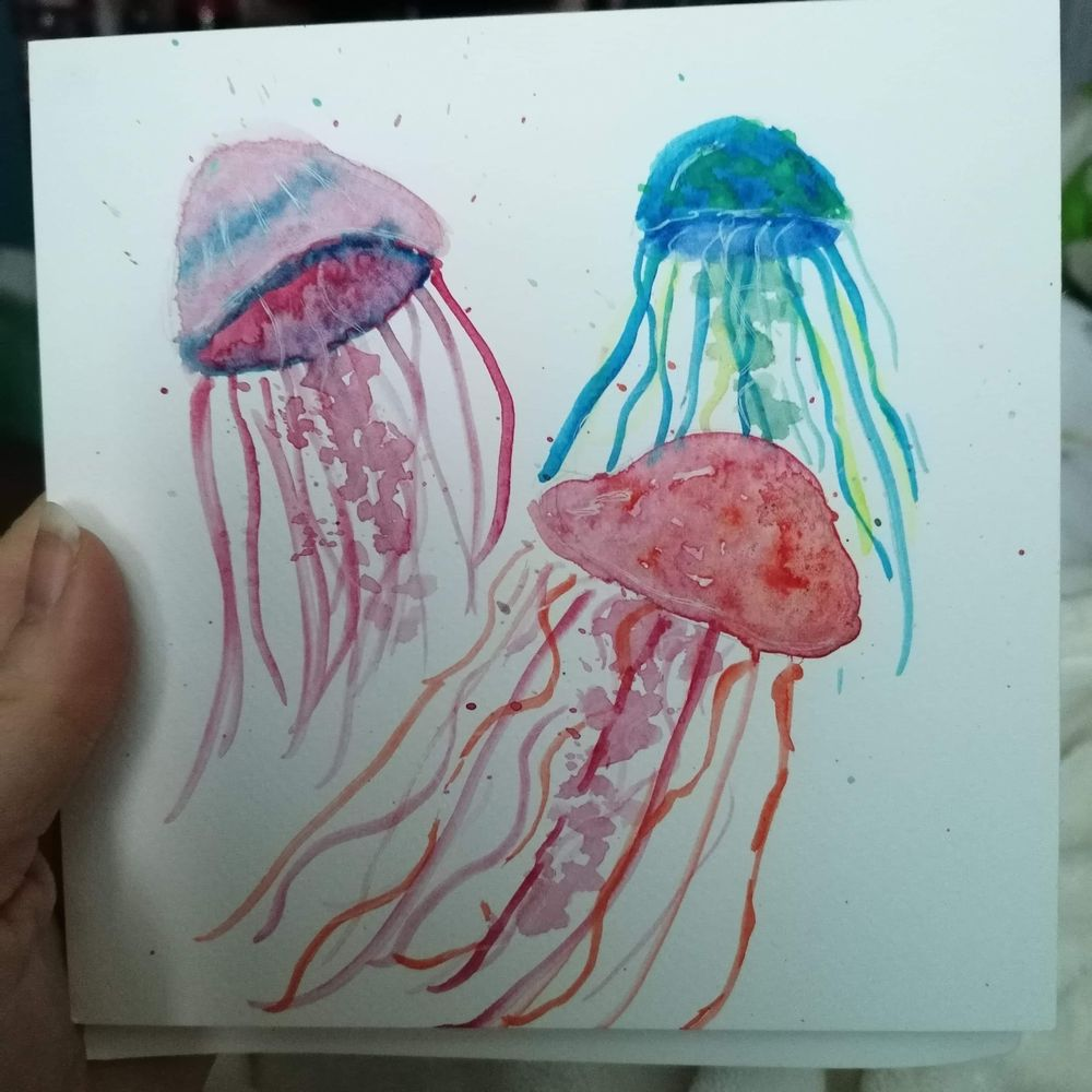 Fun with Watercolour - image 1 - student project