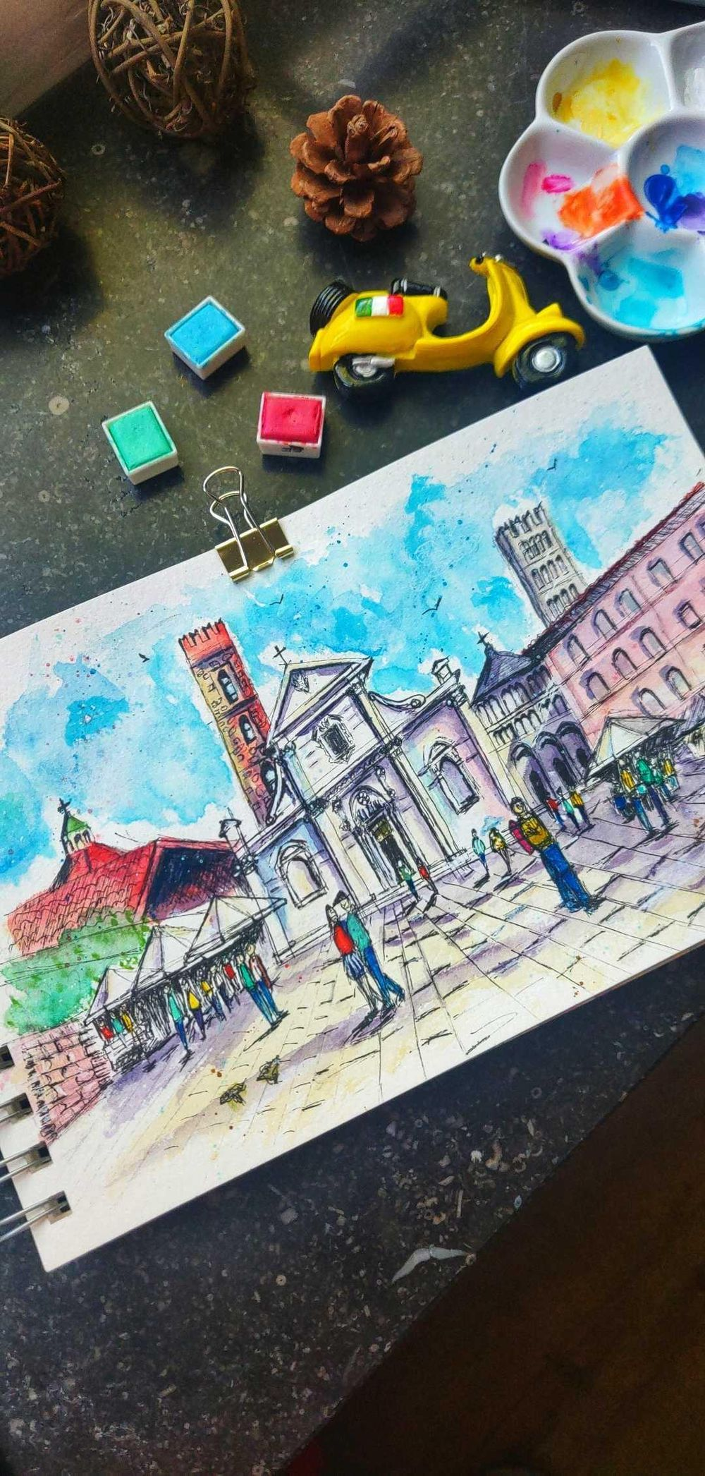 Lucca, Italy - image 3 - student project