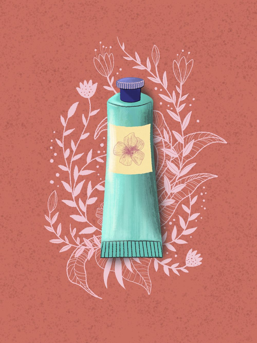 """""""Bloom & Groom"""" Beauty Line - image 3 - student project"""