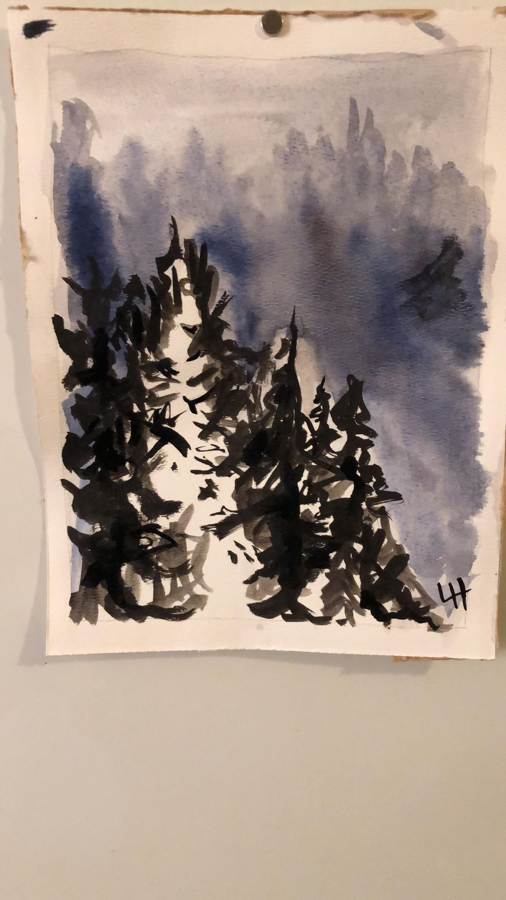 Watercolour Projects - image 2 - student project