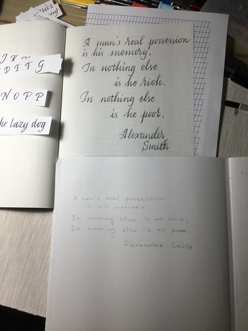I love my new handwriting - image 1 - student project