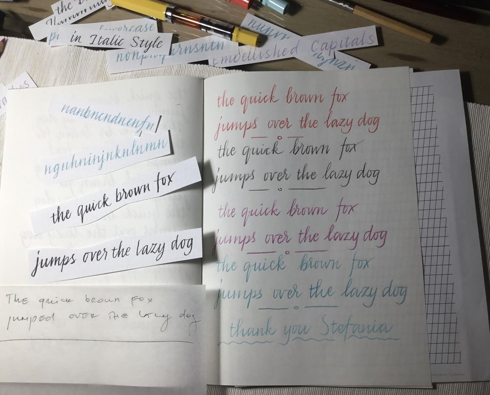 I love my new handwriting - image 2 - student project