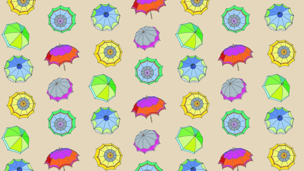 My first seamless patterns - image 2 - student project