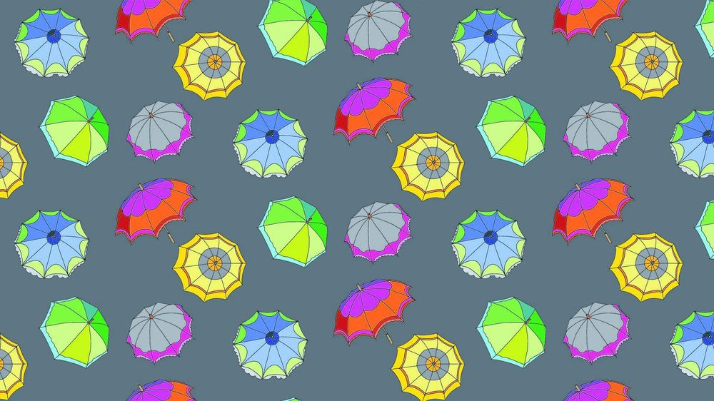 My first seamless patterns - image 1 - student project