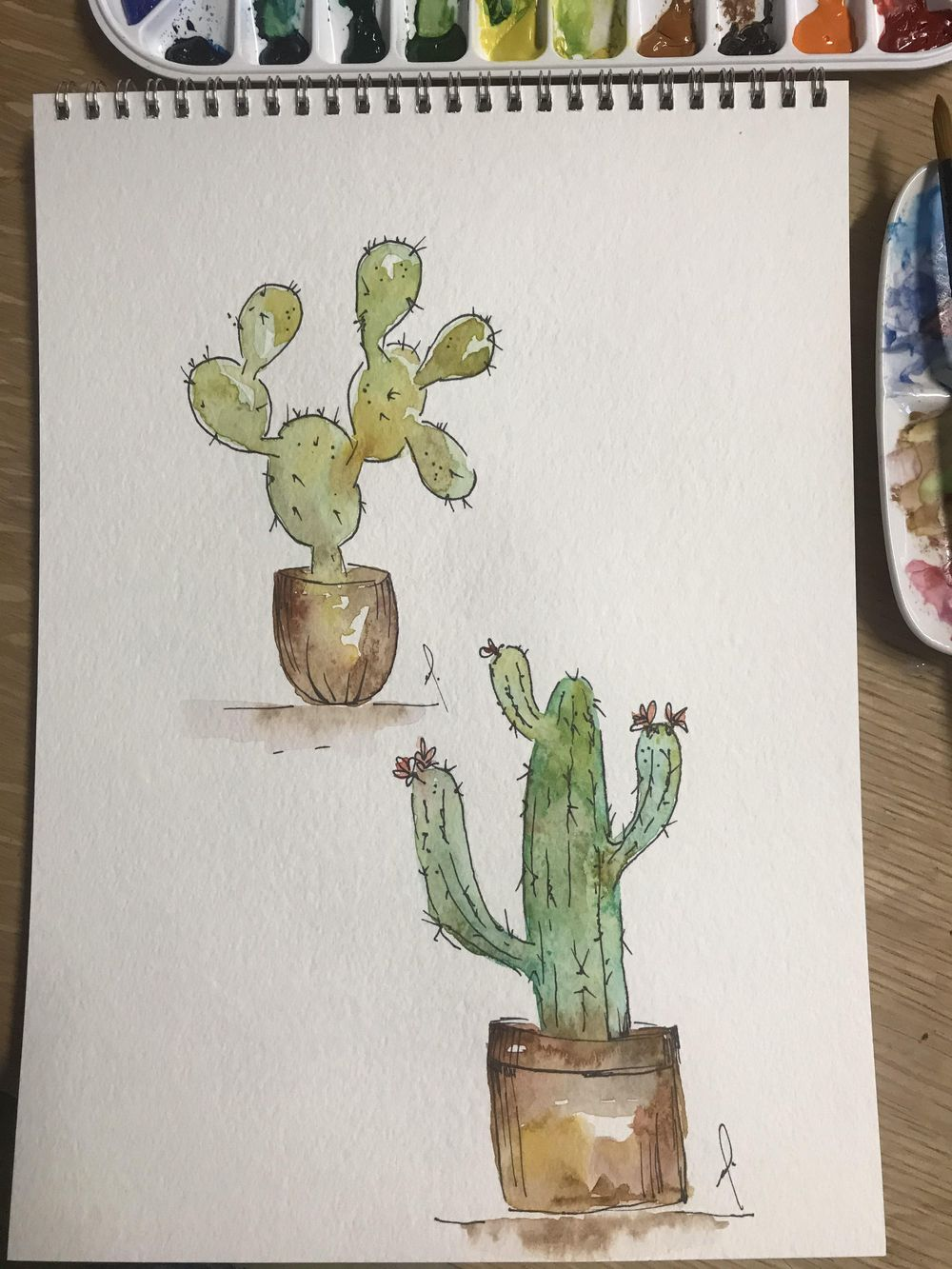 10 fun exercise in watercolor - image 5 - student project